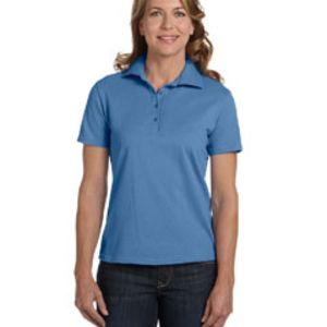 Ladies' 7 oz. ComfortSoft® Cotton Piqué Polo Thumbnail