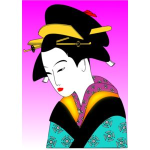 valessiobrito japan woman svg Thumbnail