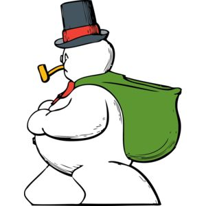 johnny automatic snowman side view Thumbnail