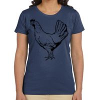 Ladies' 4.4 oz., 100% Organic Cotton Classic Short-Sleeve T-Shirt Thumbnail