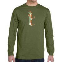 5.5 oz., 100% Organic Cotton Classic Long-Sleeve T-Shirt Thumbnail