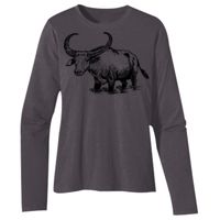 Ladies' 4.4 oz., 100% Organic Cotton Classic Long-Sleeve T-Shirt Thumbnail